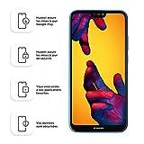 Huawei 51092FTP P20 lite Smartphone 64GB interner Speicher, 4GB RAM, 16 MP Plus 2MP Kamera, Android 8.0 EMUI 8.0, Blau