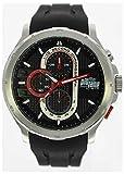 Pit Lane -Armbanduhr Chronograph Gummi PL-1014-1