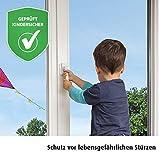 reer WinLock Fenster- und Balkontürsicherung, vom schwäbischen Kinder-Sicherheits-Experten, weiß
