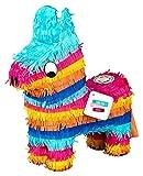 Pinata Esel | Lama | Pferd zum Befüllen mit Süßigkeiten (klein) | perfekt als Geburtstags-Spiel, für den Kinder-Geburtstag oder zu Weihnachten