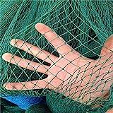 Mitefu Mehrzweck PE Pflanzen Spalier Netz Schwerlast Garten Netting Geflügel Zuchtnetz Anti-Vogel-Tennisplatz-Netz,6 Str?nge,Netting Gr??e:W2.4xL9m,Maschenweite:3x3cm,MEHRWEG