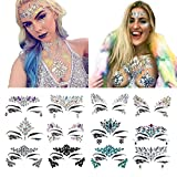FENGLANG Face Tattoo Crystal Stickers (#03)