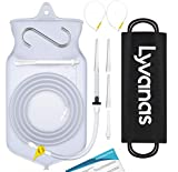 Lyvanas Einlauf Set Zur Darmreinigung (BPA- Und Phthalatfrei) - 2 Liter Klistier Set In Vollausstattung Für Alle Einläufe - Premium Reise Irrigator Set