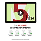 Huawei MediaPad M5 Lite LTE Tablet-PC 25,6 cm (10,1 Zoll), Full HD, Kirin 659, 3GB RAM, 32 GB interner Speicher, Android 8.0, EMUI 8.0, grau