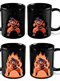 Dragon Ball Z Heat Reactive Color Changing Coffee Mug (Goku) by B-D