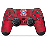DeinDesign Aufkleber Skin Folie für Sony Playstation 4 Controller PS4 Controller Schutzfolie FC Bayern München Camouflage FCB