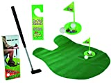 Out of the blue 59/2049 Toiletten Golf Set, 6-teilig, Golfschläger, circa 62 cm