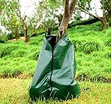 Mitefu 20 Gallone Langsam freisetzende Baumbew?sserungsbeutel PVC Automatisches Tropfenf?nger-System vervollkommnen für das Pflanzen von B?umen und von Str?uchen,Grün,MEHRWEG
