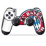 DeinDesign Aufkleber Skin Folie für Sony Playstation 4 Controller PS4 Controller Schutzfolie FC Bayern München Bundesliga Fußball Fanartikel Merchandise