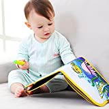 Zeichenbrett für Kinder, tragbar, Schreiben und Lernen, Innovatives Spielzeug, bunte Kreide, Tuch, Buch, frühes Lernen