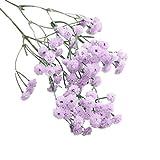 CLEARANCE! MEIbax künstliche seide falsche blumen schleierkraut floral hochzeitsstrauß partei dekor (Lila)