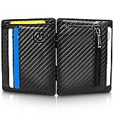 GenTo Magic Wallet Monte Carlo - Carbon-Optik - TÜV geprüfter RFID, NFC Schutz - Magische Geldbörse   Design Germany