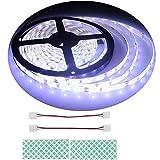 BIHRTC 12V DC IP65 Wasserfest Rot 5630 SMD 5M/16.4ft 300 LED Streifen Lichtleiste Lichtband led band für Küchenschrank Schlafzimmer Startseite dekorative Beleuchtung Innenraum [Energieklasse A+]