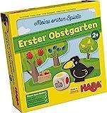 Haba 4655 - Meine ersten Spiele Erster Obstgarten, unterhaltsames Brettspiel rund um Farben und Formen ab 2 Jahren, Holzspielzeug und Lernspiel, der Spieleklassiker für kleine Kinder