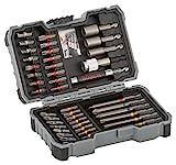 Bosch Professional 43tlg. Schrauber Bit Set (Zubehör für Elektrowerkzeuge)
