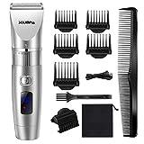 SOLIMPIA Herren Haarschneider Wiederaufladbare Haarschneidemaschine für Männer, Profi Elektrischer Barttrimmer & Herren Haartrimmer mit LED und USB Lithium-Batterie- Präzision und Eleganz