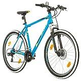 BIKE SPORT LIVE ACTIVE 27,5 Zoll Bikesport Thunder Herren Fahrrad MTB Mountainbike Hardtail Shimano 21 Gang (Schwarz matt, L)