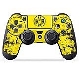 DeinDesign Aufkleber Skin Folie für Sony Playstation 4 Controller PS4 Controller Schutzfolie Borussia Dortmund BVB Fanartikel