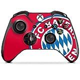DeinDesign Skin Aufkleber Sticker Folie für Microsoft Xbox One Controller FCB Fanartikel Merchandise FC Bayern München
