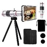 Yarrashop® iPhone Kameraobjektiv-Kit mit 18-fachem Zoom, Aluminium-Teleobjektiv