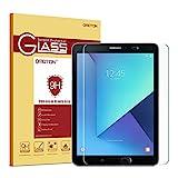 OMOTON Panzerglas Schutzfolie für Galaxy Tab S3 9.7 mit [9H Härte][ Anti-Kratzen][Kristall-klar][Bläschenfrei zu Montage][lebenslange Garantie]
