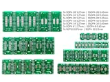 UNIVERSAL-SOLDER SIMPLY. SMARTER. ELECTRONICS. 35 PC SMD Adapter Circuit Boards 7 Styles 5 PC jedes DIP