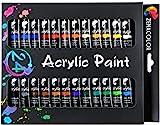 Zenacolor Set mit 24 Acrylfarben 24 Tuben je 12 mL