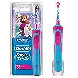 Oral-B Stages Power Kids Elektrische Zahnbürste mit Figuren aus Die Eiskönigin- Völlig unverfroren