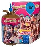 Helium Ballongas Heliumgas für bis zu 100 Ballons Luftballons Latexballons Folienballons Party Spaß Heliumstar®