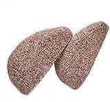Pflege für die Füße Horsky 2 PCS Pflege der Füße Stein für Fuß Bimsstein Füße aus Natur zur Hornhautentfernung für Gesicht/Fuß