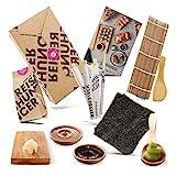 Reishunger Sushi Box (8-teilig, für bis zu 4 Personen) Komplett-Set mit Original Japanischen Zutaten – perfekt auch als Geschenk