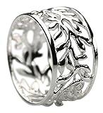 Feiner 12 mm breiter 925er Silberring, Größe:Größe 54 (17.3 mm)