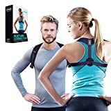 DYNMC you Haltungskorrektur für aufrechte Körperhaltung - Rückenstütze unter/über der Kleidung tragen - Gerader Rücken im Büro - Keine Rückenschmerzen - Qualitäts Posture Corrector für Damen & Herren