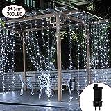 400 LED kugel lichterkette,Wasserdicht kugel lichterkette außen, kugel lichterkette bunt 8 Modi Globe Lichterkette für Garten, Balkon,Hochzeit, Party, Weihnachten