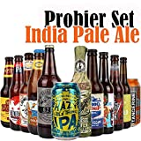 8er Craftbeer-Set - INDIA PALE ALE (IPA) - mit Verkostungstipps und Bewertungsbogen - von.BierPost.com