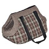 nanook Transporttasche für Tiere, Transportbox, 53 cm - für Hunde, Katzen und Nager - braun