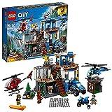 LEGO City 60174 - Bergpolizei Hauptquartier Cooles Kinderspielzeug